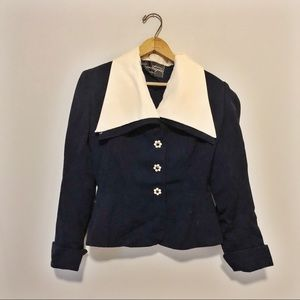 Alms & Doepke Jacket with Gorgeous Buttons